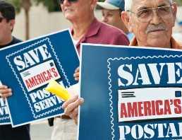 Thượng viện Mỹ phê chuẩn rót 11 tỷ USD cứu ngành bưu điện
