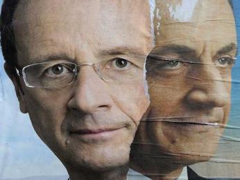 Tổng thống Pháp Sarkozy thất thế trong cuộc tranh luận trên truyền hình
