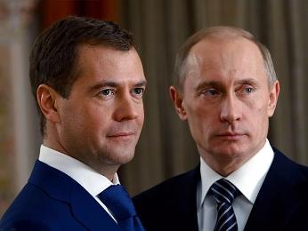 Tổng thống Putin đề xuất ông Medvedev làm Thủ tướng