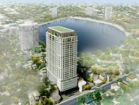 Đình chỉ xây dựng dự án nhà ở cao cấp 27 tầng tại Núi Trúc, Hà Nội