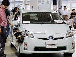 Lợi nhuận Toyota giảm 30% trong năm tài chính 2011