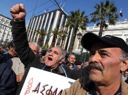 Hơn 1/5 dân số Hy Lạp thất nghiệp
