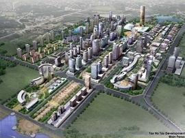 Huy động 200 triệu USD cho siêu dự án Tây Hồ Tây