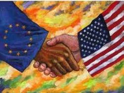 Mỹ và EU nhanh chóng xây thỏa thuận thương mại