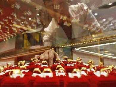 Trung Quốc vượt Ấn Độ thành nước tiêu thụ vàng lớn nhất thế giới trong quý I/2012