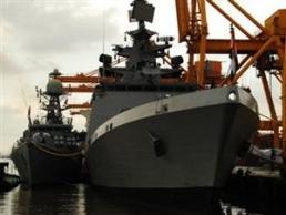Hai tàu Hải quân Ấn Độ thăm thành phố Hải Phòng