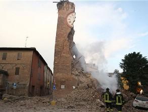 Italia ban bố tình trạng khẩn cấp ở khu vực động đất