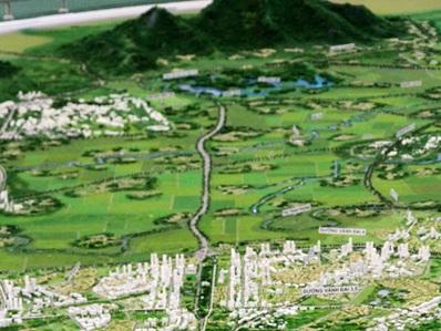 Không phát triển đô thị dọc tuyến đường chính huyện Ba Vì