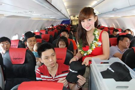 VietJetAir khai trương đường bay Hà Nội - Đà Nẵng