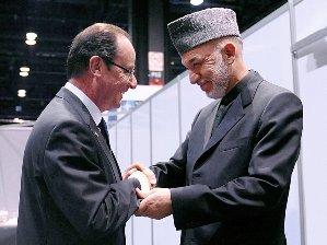 Tổng thống Pháp bất ngờ thăm Afghanistan
