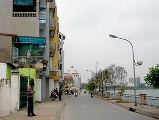 Đề nghị dừng làm đường nối từ ven Hồ Tây ra đường Thuỵ Khuê, Hà Nội