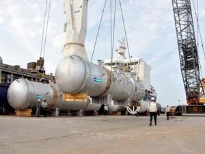 Doosan Vina xuất khẩu  hơn 4000 tấn thiết bị công nghệ cao