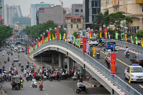 Tháng 6 xây cầu vượt tại nút giao Bạch Mai - Lê Thanh Nghị
