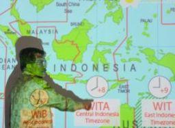 Indonesia sẽ chuyển về múi giờ duy nhất từ ngày 28/10 tới