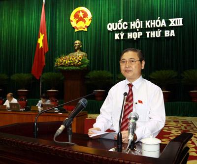 Quốc hội thảo luận dự thảo Luật Dự trữ quốc gia