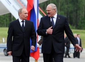 Chuyến công du đầu tiên của Putin là đến Belarus