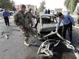 Đánh bom ở thủ đô Baghdad, 65 người thương vong