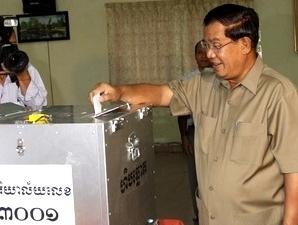 Đảng của Thủ tướng Campuchia Hun Sen giành chiến thắng trong bầu cử địa phương