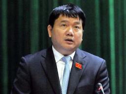 Bộ trưởng Đinh La Thăng trả lời việc bổ nhiệm Cục trưởng Cục Hàng hải