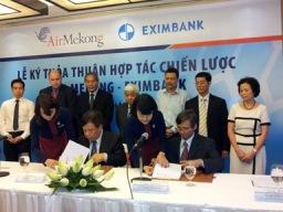 Eximbank sẽ nắm 11% cổ phần của Air Mekong
