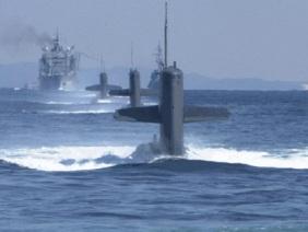Nhật Bản, Ấn Độ lần đầu tập trận chung trên biển