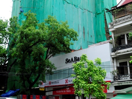 Hà Nội xử lý nghiêm vụ xây dựng sai phép tại 55A, 55B, 55D phố Bà Triệu