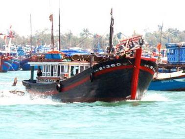 Nghề đóng tàu công suất lớn tại Bình Định phát triển