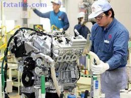 Đặt hàng máy móc của Nhật Bản tăng mạnh trong tháng 4