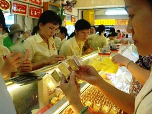 Giá vàng lại giảm hơn 100 nghìn đồng/lượng