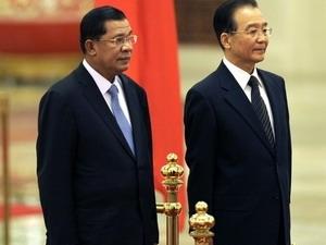 Trung Quốc ký viện trợ cho Campuchia 3 lần trong vòng 3 tháng