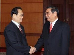 Đoàn đại biểu Đảng Lao động Triều Tiên thăm Việt Nam