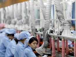 Sản xuất Trung Quốc suy giảm tồi tệ như thời kỳ khủng hoảng 2008