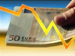 Euro giảm trước lo ngại về khủng hoảng nợ châu Âu lan rộng