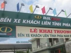 DLG đưa bến xe phía nam Đà Nẵng vào hoạt động
