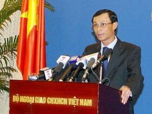 Việt Nam yêu cầu Trung Quốc hủy thầu tại thềm lục địa quốc gia