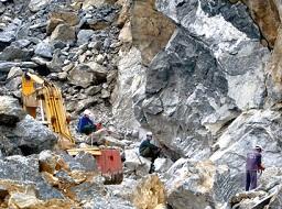 DLR được cấp phép dự án chế biến đá xây dựng