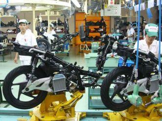 Công nghiệp xe máy nội địa hy vọng ở thị trường nước ngoài?