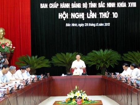 GDP Bắc Ninh tăng 12% trong 6 tháng đầu năm