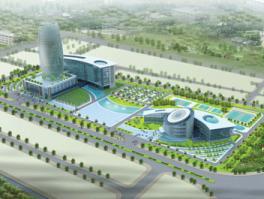 Bình Thuận quy hoạch chi tiết tỷ lệ 1/500 Khu hành chính tập trung tỉnh