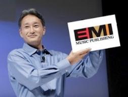 Sony hoàn tất thương vụ mua EMI Music Publishing