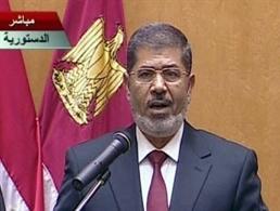 Tân tổng thống Ai Cập Morsi tuyên thệ nhậm chức