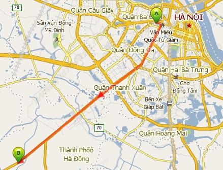 Phân luồng phục vụ thi công dự án đường sắt đô thị Cát Linh-Hà Đông