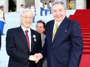 Chủ tịch Cuba sắp thăm Việt Nam