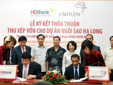 Ký thỏa thuận thu xếp vốn 550 triệu USD cho dự án 125ha tại Hạ Long