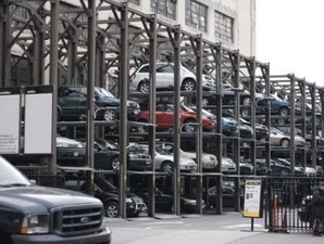 Đầu tư hơn 100 tỷ đồng lắp đặt  giàn thép đỗ xe tại Hà Nội