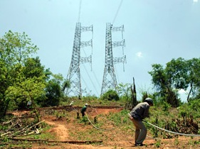 Vận hành 16 công trình lưới điện 220-500 kV