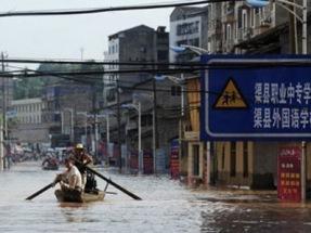 Trung Quốc sơ tán hơn 220.000 người do lũ lớn