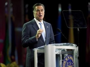 Ứng viên Tổng thống Mỹ  Mitt Romney bị cử tri da màu phản đối