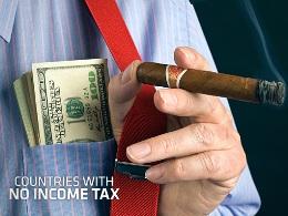 8 quốc gia không đánh thuế thu nhập