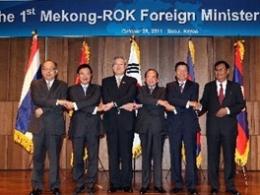 Hàn Quốc viện trợ 1 triệu USD cho các nước lưu vực sông Mekong